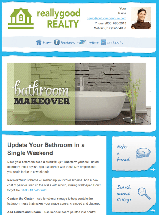 Real Estate E-mail Newsletter Basics for Engaging Customers